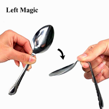 1pcs Bend Spoon Bending Gimmick street close up magic tricks show illusion  E3036