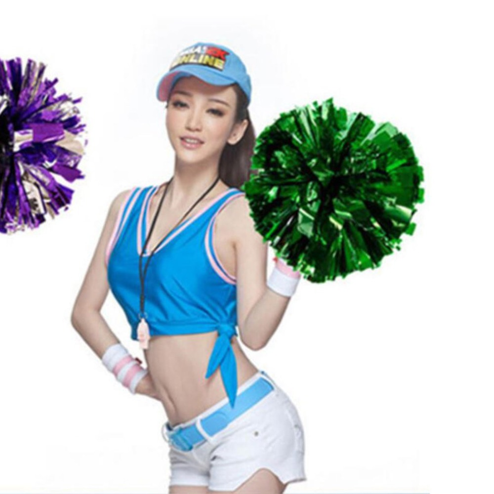 Competition Cheerleading Flower Ball Light Up Party Fancy Pom Poms Modish Cheer Dance Soccer Basketball Match Sport Flower