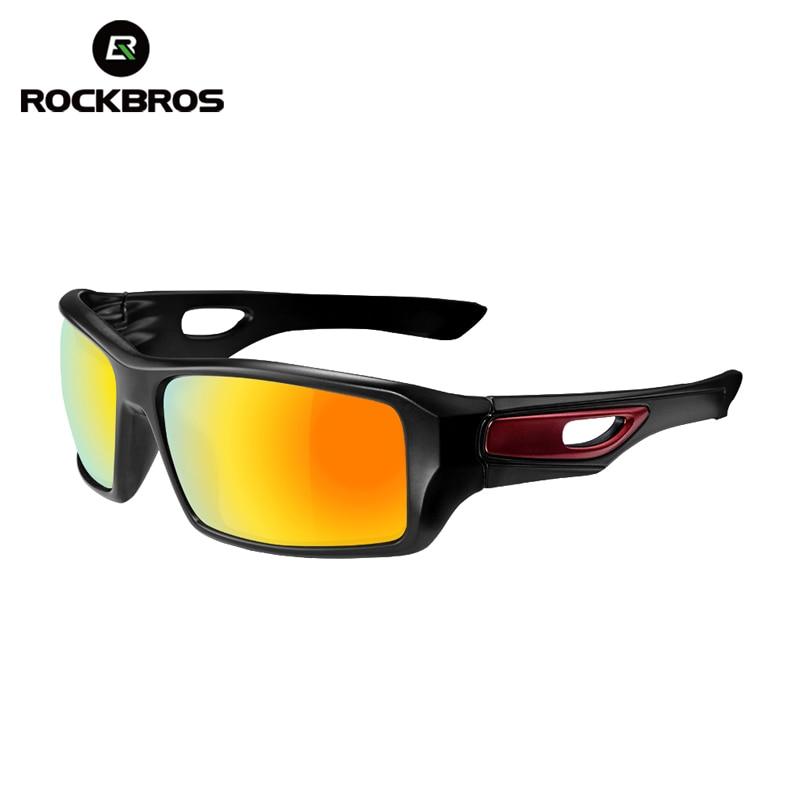 ROCKBROS Bicicleta de ciclismo Gafas polarizadas Protección de conducción Gafas de bicicleta Gafas de conducción Gafas de sol deportivas al aire libre 4 colores