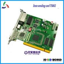 TS802 מלא צבע וידאו Led תצוגת מסך בקר שליחת כרטיס (Linsn TS802 שליחת כרטיס)