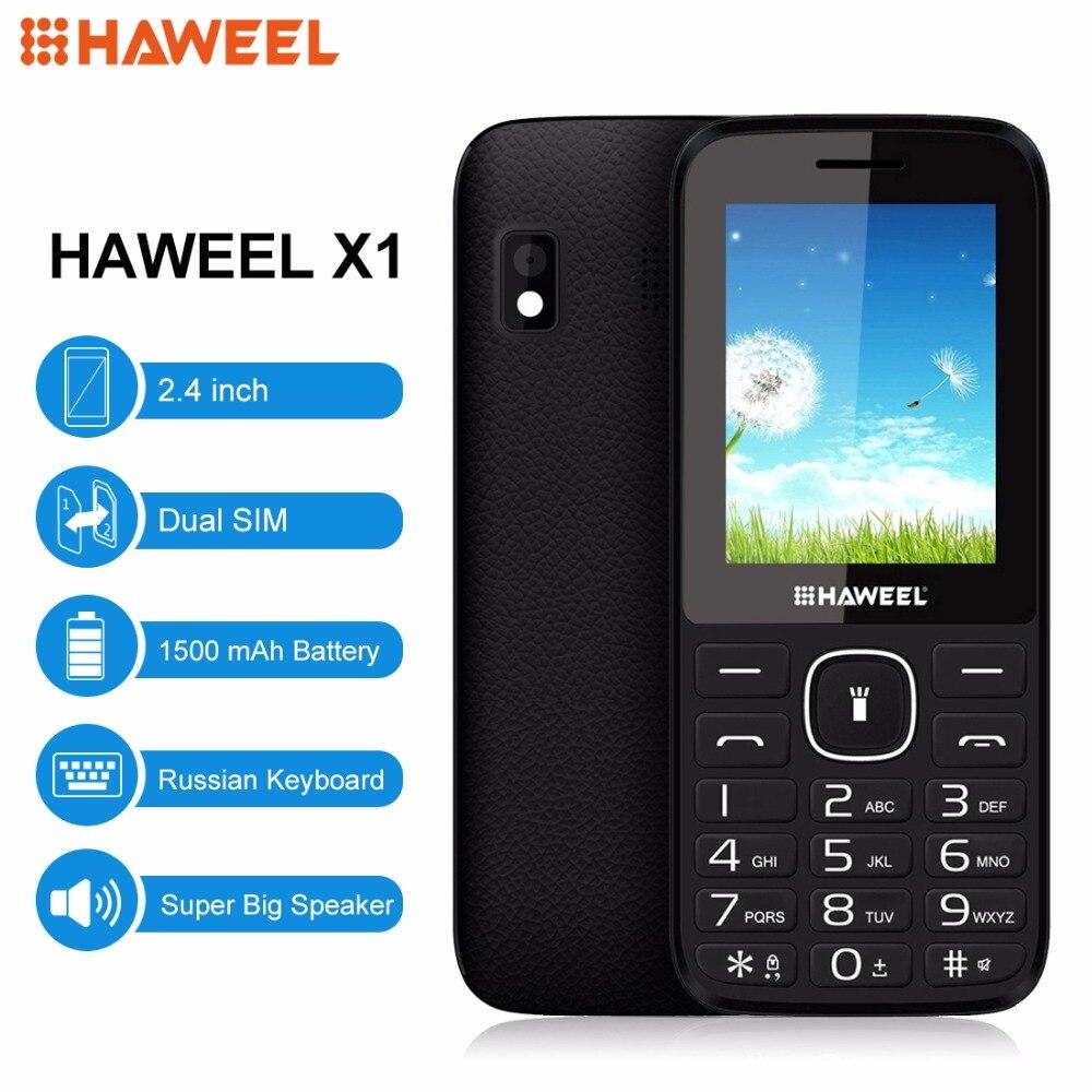 Russian English Keyboard Haweel X1 Cell s