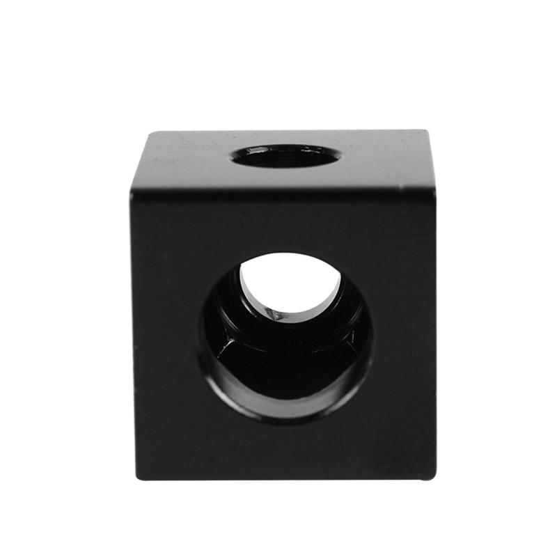 Creative 1/3/6pcs V-slot Three Corner Cube Corner Prism Connector Adjustable Wheel Bracket For 3d Printer Sl@88 3d Printers & 3d Scanners 3d Printer Parts & Accessories
