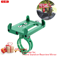 Mobile Phone Holders Stands Bike bicycle motorcycle phone holder mirror Handlebar Clip Stand  for 3.5to7.5 Smartphones
