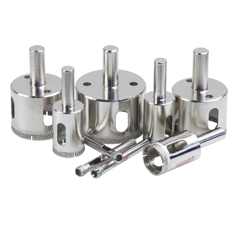 130mm 140mm 150mm 160mm Diamond Coated Tile Ceramic Glass Ceramic Marble Granite Cutter Power Tool Hole Saw Core Drill Bit