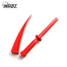 WHDZ PDR Tools 2pc red car body repair tools plastic wedge windows wedge tools assemble plastic wedge kit Repair wedge mac wedge