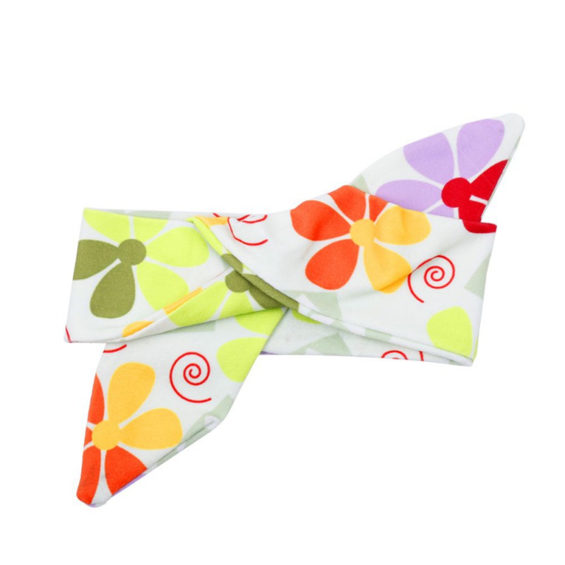 Kids Girls Baby Headband Toddler Bow Hair Band Infant Printed Headwear Hair Accessories