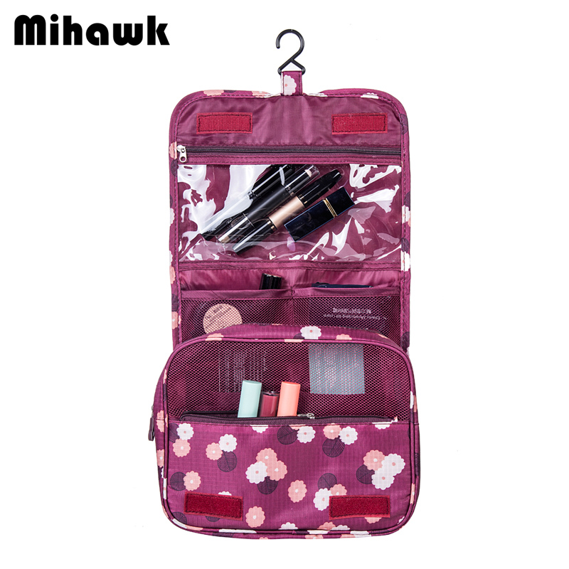 Mihawk Womens Mens Hanging Cosmetic Bag Makeup Case Travel Organizer Wash Pouch Beauty Products Toiletry Storage AccessoriesMihawk Womens Mens Hanging Cosmetic Bag Makeup Case Travel Organizer Wash Pouch Beauty Products Toiletry Storage Accessories