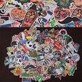 200 unids envío de La Gota venta Caliente mezclada decoración toy estilo pegatinas portátiles para la motocicleta garabato patineta juguetes pegatinas