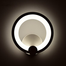Moderne Home Leuchten Wand Lampen Für Schlafzimmer Wohnzimmer Esszimmer Weiß & Schwarz Fertige Wand Beleuchtung Freies Verschiffen AC110V 220V
