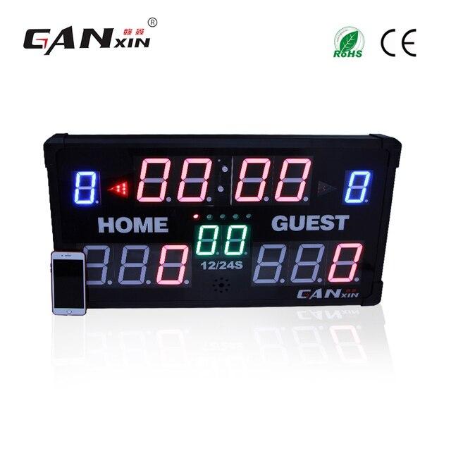 7f58139461f GANXIN  display Led placar futebol com controle Remoto em Relógios ...