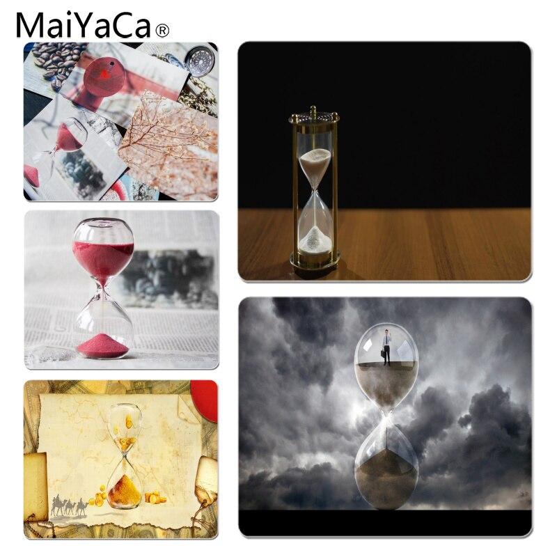 Maiyaca песочные часы Время летит большой Мышь Pad PC компьютер коврик Размеры для 25x29 см игровой Мышь колодки ...