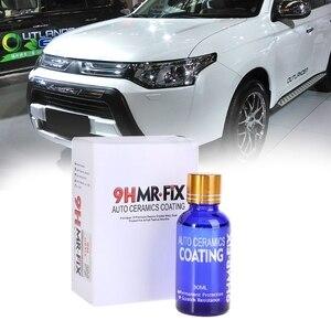 Image 2 - 30 مللي 9HMR إصلاح طلاء طلاء السيارات المضادة للخدش الزجاج ملمع سيارة معطف السيراميك السائل