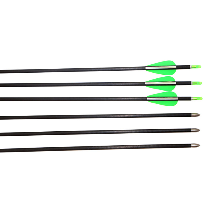 24 pieces 6mm pure carbon fiber arrow spine 600 inner diameter 4.2mm archery hunting carbon arrows wholesale archery equipment hunting carbon arrow 31 400 spine for takedown bow targeting 50pcs