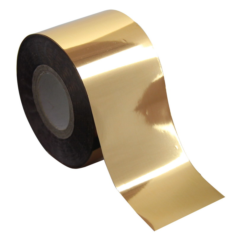 Plastic Glossy Gold Color Nail Transfer Foil 1 Roll 120m*4cm Beauty Nail Art Stickers Decal Manicure Tool Wholesale Retail WY245 beauty girl 2017 wholesale excellent 48bottles 3d decal stickers nail art tip diy decoration stamping manicure nail gliter