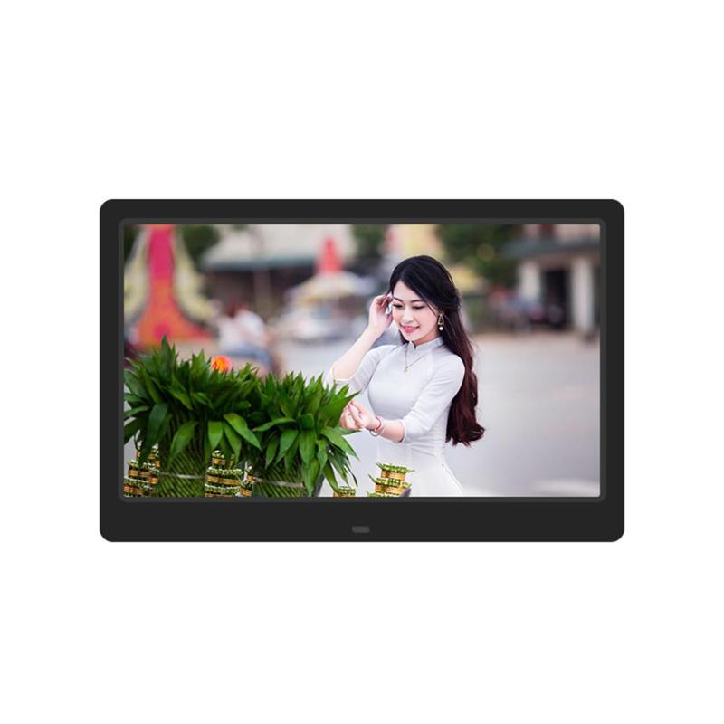 12.5 inch TFT-LCD Screen Digital Photo Frame 1366X768 Electronic Photo Frame Alarm Clock Music Video MP3 MP4 Player High Quality цены
