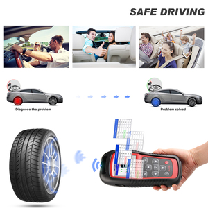 Image 4 - Autel MaxiTPMS TS501 TPMS Car Diagnostic Tool Activate TPMS sensors/ Read sensor data/TPMS Sensor Programming/ Check Key FOB/OBD