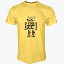 ROBOT word-shaped T-shirt
