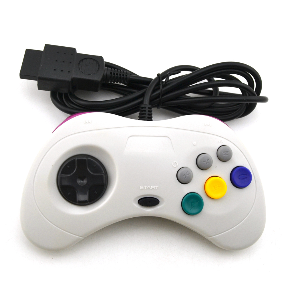 10pcs a lot  Wired USB Game controller classic joypad for SEGA for Saturn10pcs a lot  Wired USB Game controller classic joypad for SEGA for Saturn