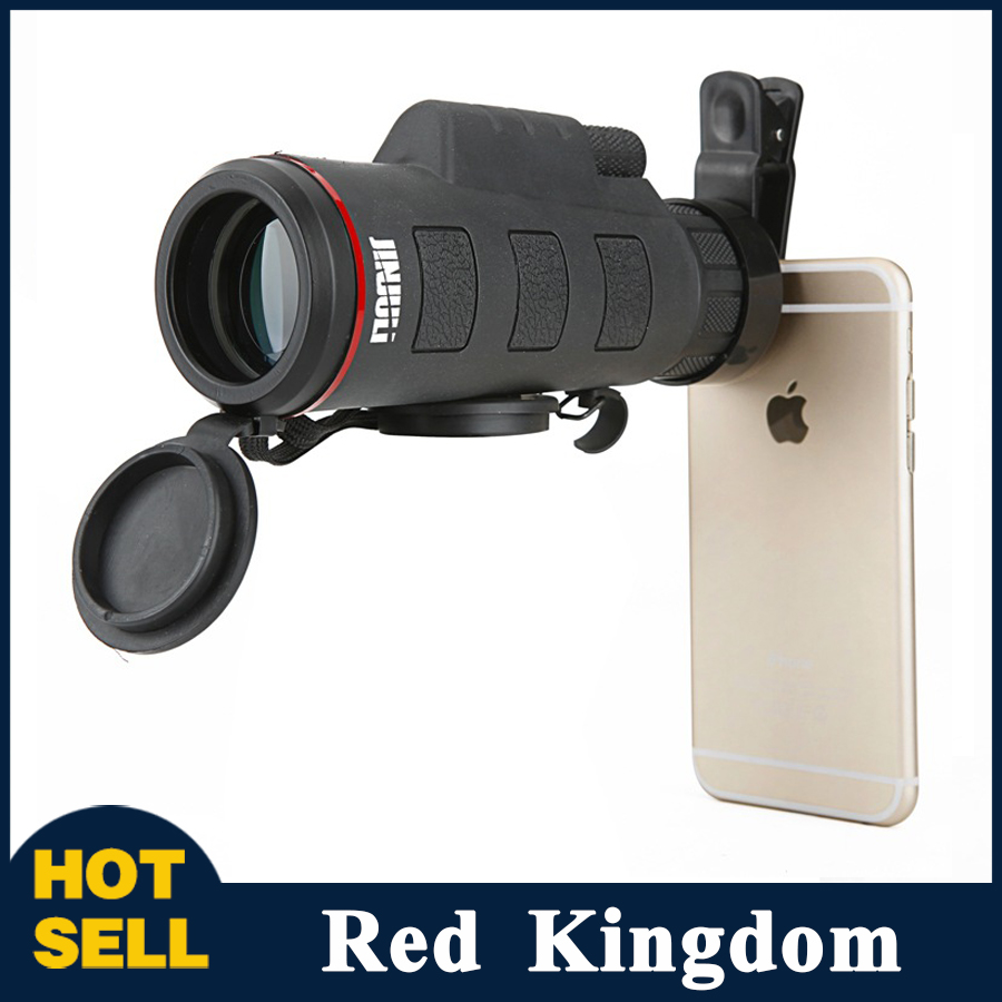 High Power 35X50 Monocular Telescope Low Light Night Vision Binoculars Wide Angle Pocket-size for Sightseeing Hunting Watching  цены