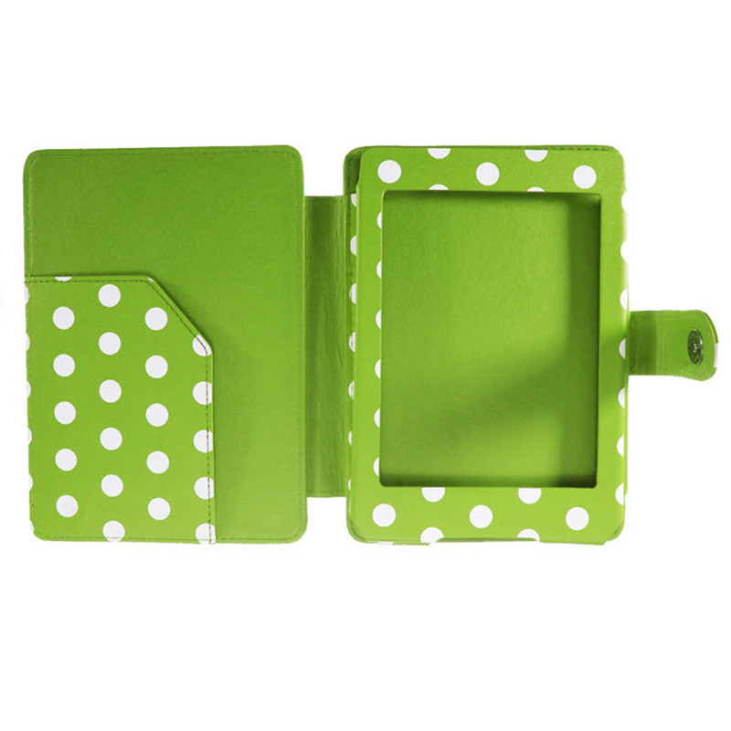 5 Packs Magnetic PU Leather Cover Case Slim for Amazon Kindle Paperwhite (Round Dot, Green) 3 packs 75% hca garcinia extracts slim product