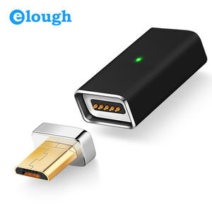 Elough A01 Micro USB To Magnetic Charger Cable Adapter For Android Mobile Phone Charge