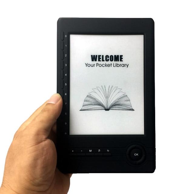 Lanqin 6 zoll e INK elektronische tinte bildschirm digital ebook reader mit 8 GB karte Mit Schutzhülle