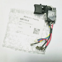 Genuine Switch 18V For Makita 650241 4 650722 8 Switch BTD134 BTD146 DTD146 SCHALTER LXT 18V