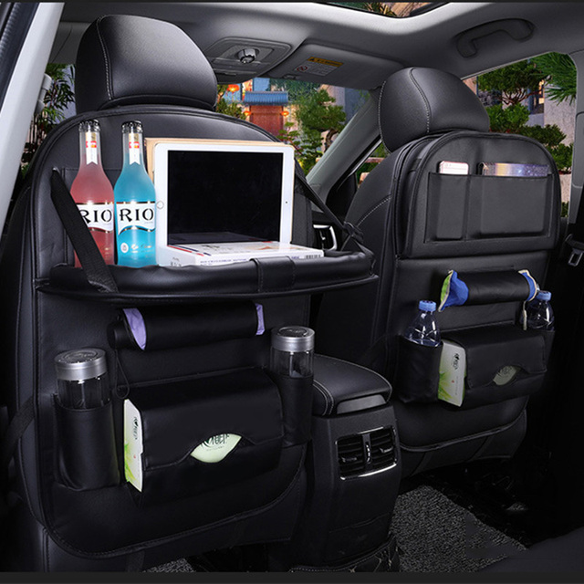 Car Seat Back Storage Bag Multifunction Hanging Bags For Nissan Leaf Livina Note Pathfinder Patrol Y61 Primera Sunny Tiida Versa In Stowing Tidying From