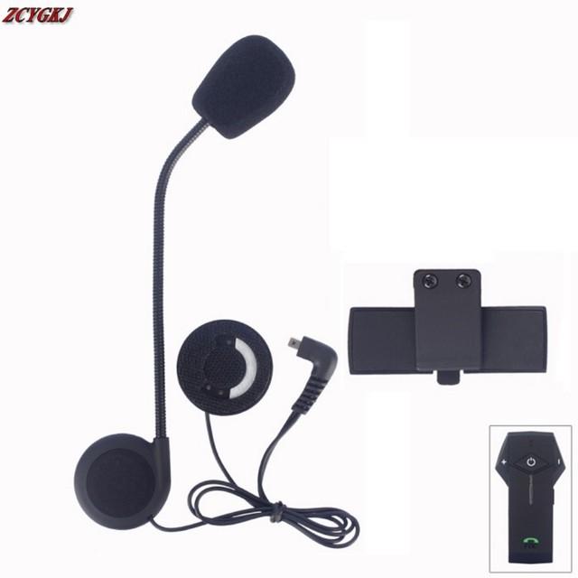 Novo Microfone Speaker & Acessórios Clipe Terno para COLO COLO Interfones Motocicleta Bluetooth Frete Grátis!