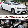 Night Lord 8 X Error Free White Interior LED Light Package Kit For Toyota Corolla Accessories