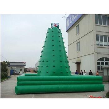 Dostosować dwustronne nadmuchiwane wspinaczka ściany na sprzedaż tanie i dobre opinie XZ-CW-044 Dziecko Customize Sided inflatable climbing wall for sale 0 5mmPVC 110-220v Large Outdoor Inflatable Recreation