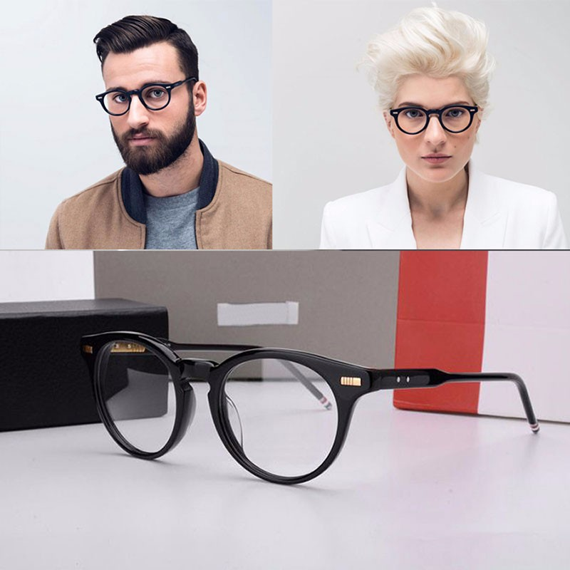 2017-thom-browne-eyewear-optical-TB404-brand-eyeglasses-Round-glasses-frame-Fashion-temperament-oliver-peoples-oculos