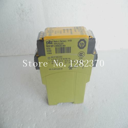 все цены на  New original PILZ safety relays PNOZ X2P C 24VACDC 2n / o 787303 Spot  онлайн