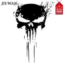 JIUWAN 15*10cm Car Styling Skull Blood Sticker Cool Decal Auto Decoration Motorcycle Accessories(China)