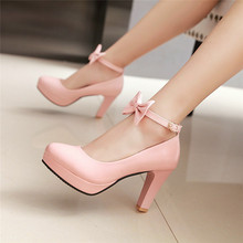 Ymechic sapatos femininos, sapatos de casamento, de noiva, branco, fofo, plataforma, tornozelo, tira, salto alto, rosa, preto, para escritório