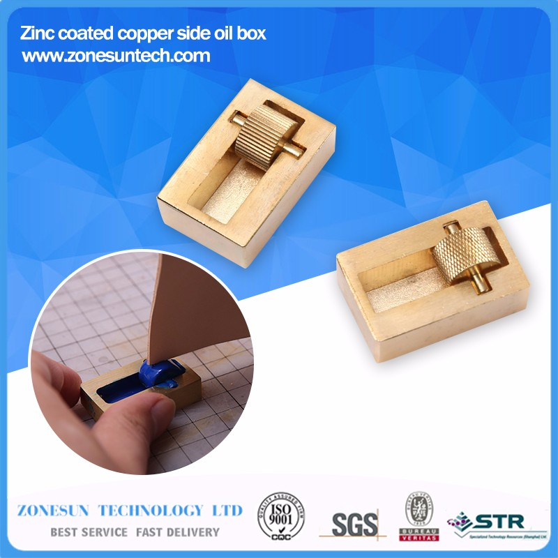 Leather-Craft-Making-Tool-Oil-Painting-Box-2-Rollers-Brass-DIY-Hand-Making-Sewing-Tools-Sets
