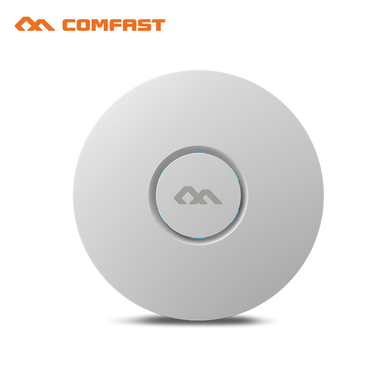 COMFAST CF-E320N 300Mbps Ceiling AP 802.11b/g/n wireless AP wifi coverage router wi fi Access Point AP Bridge with 48V POE power comfast cf e325n ceiling ap 300mbps wifi router wireless repeater