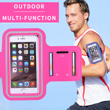 Common Multi-function Reflective Tapes  Key Case and Card Package deal  Armbands for four.7-5.5 inch Cell Cellphone Luggage for Runners