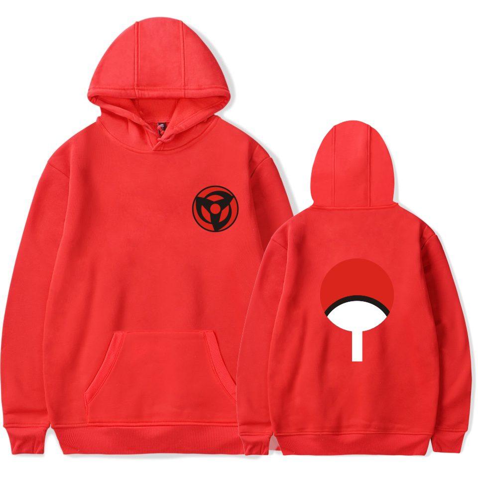 BTS Naruto Hoodies Sweatshirts Uchiha Syaringan Mit Kapuze Jungen - Herrenbekleidung - Foto 6