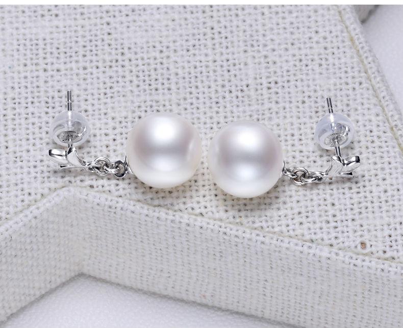 gold freshwater pearl earrings jewelry 22