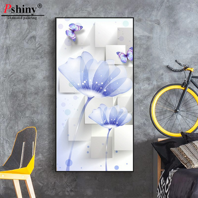 Pshiny 3d Πλήρες τετράγωνο στρογγυλό - Τέχνες, βιοτεχνίες και ράψιμο - Φωτογραφία 1