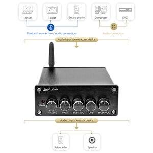Image 2 - AIYIMA ミニ Amplificador Bluetooth 5.0 出力サブウーファーアンプ 2.1 TPA3116 クラス D デジタルハイファイ発熱オーディオホームアンプ