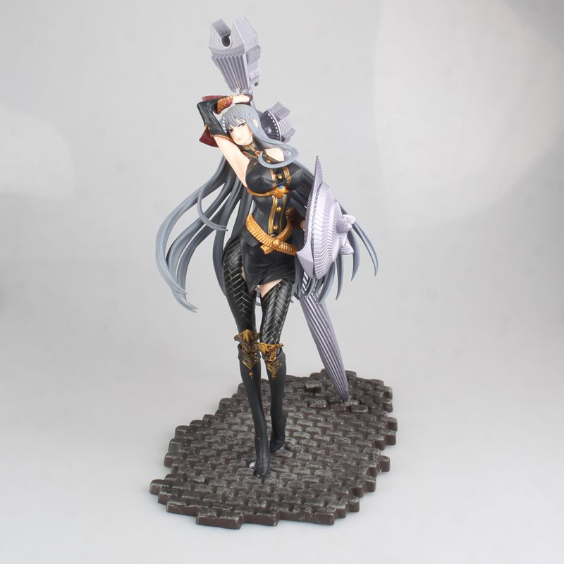 30cm valkyria chronicles Selvaria Bles Battle mode Action figure toys collection doll Christmas gift with box30cm valkyria chronicles Selvaria Bles Battle mode Action figure toys collection doll Christmas gift with box