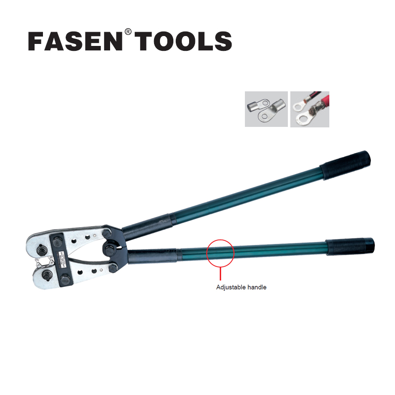 FASEN TOOLS HX-245B CRIMPING copper tube terminal crimping tool  BS Standard terminals 70-240mm 2/0AWG multi tool tools всесезонные шины 245 70 16 купить