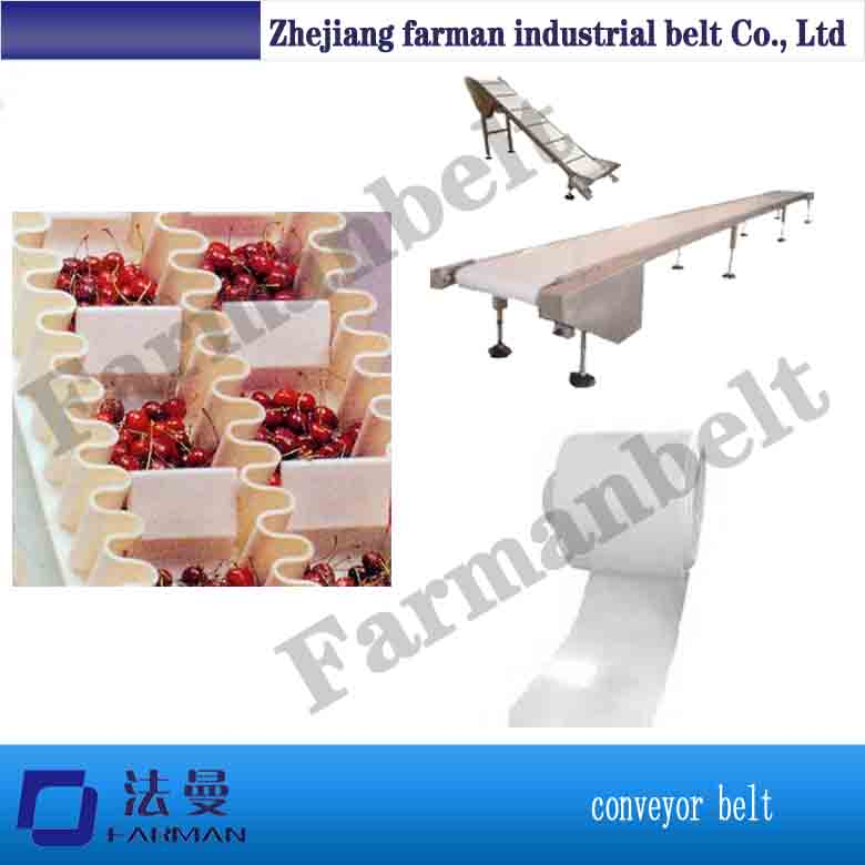 high quality food grade cleated pvc conveyor belt стоимость