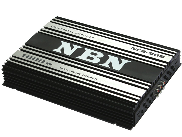 High Power 1600Watts Class AB Stereo Car Amplifier 4 channel Powerful Subwoofer Amplifier Booster