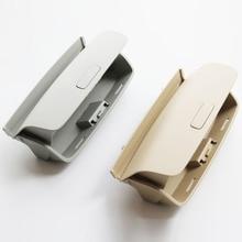 ELISHASTAR Новый бежевый серый солнцезащитных очков держатель Box для V-W Tiguan Гольф MK5 MK6 J-Этта 5 Passat B7 1KD868837 1KD 868 837