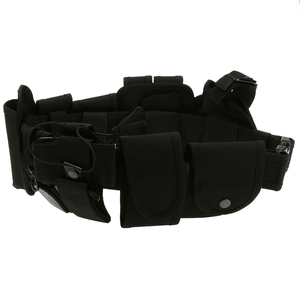 Image 4 - Utility Belt Waist Bag Pouch Mens Security Police Guard Patrol Kit with Radio Holster Tools for outdoor