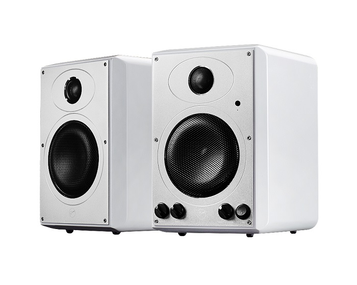 H5MKII Wireless 2.0 Multimedia Bookshelf Speakers High-fidelity Bluetooth WiFi Monitor Speakers 2-way 4th-order vented speaker appvei ht103 usb 3 5mm high fidelity multimedia desktop speakers green black pair