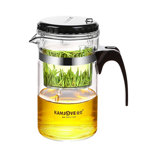 Image 2 - glass  tea pot 1000ml glass teapot elegant glass cup filter cup чайник заварочн